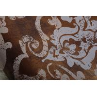 Synchronized and Heavy Embossed Wallpaper European Style Italy Flower Manufactures