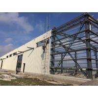 Large Span Structural Steel Plant Flexibility Concrete Short Construction Style Manufactures