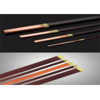 Solderable Rectangular Copper Wire , 0.02mm Super Thin Enamelled Winding Wire