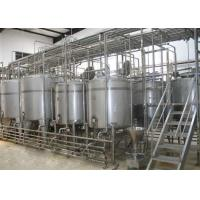 China Complete UHT Milk Processing Line Pasteurizing Homogenizing And Packing on sale