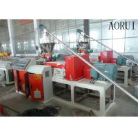 China WPC Deck Plastic Profile Extrusion Line wholesale
