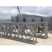 China Prefabricated Q345B Single Lane Bridge , Hot Dip Galvanized Steel Bridge wholesale