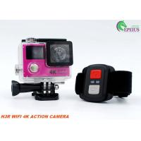China 12MP 1050mAh Sports Dual Screen Action Camera H3R 2.4G Controller Slim Wifi Mini on sale