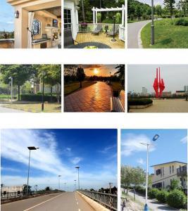 3-12m Lamp Post Aluminum/Steel Lighting Pole Outdoor Solar LED Street Light Pole Manufactures