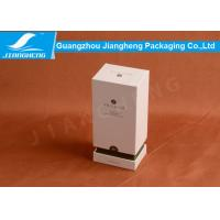 Lid And Based Cardboard Packing Boxes Essential Oil White Storage Box SGS Manufactures