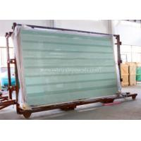 Clear / Tint Laminated Tempered Safety Glass , Solid tempered window glass Manufactures