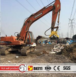 BEIYI Heavy equipment hydraulic excavator compactor hydraulic palte compactor for excavator Manufactures