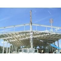 China Structural Steel Hanger Construction Company For Aircraft Parking Apron And Steel Buildings Manufactures