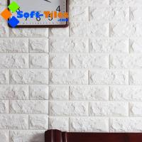 3D PE Foam Wall Sticker Panels Wallpaper Decor Manufactures
