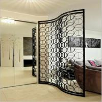 laser cut stainless steel decorative panels screen for hotel screen/living room divider Manufactures