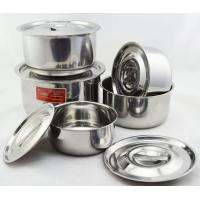 5pcs 16-24cm stainless steel stockpot set Manufactures