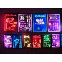 Buy cheap Ultra thin Full color advertising flashing LED Writing Board signs from wholesalers
