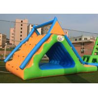 China Small Triangle Inflatable Water Games Floatin Toys 0.9mm Plato PVC Tarpaulin on sale