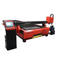 China 2060 CNC Steel Sheet & Steel Pipe Plasma Cutting Drilling Machine with Rotary Axis/200A Hypertherm Plasma Power Supply on sale