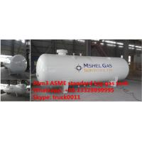 Factory direct sale best price ASME standard 20,000L surface lpg gas storage tank, 20m3 ASME stamped propane gas tank Manufactures