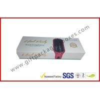 Magnetic gift boxes for hair extension , 1500g Hard board box with logo embossed and foiled Manufactures