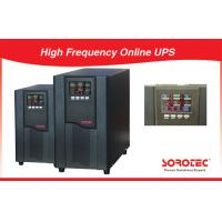 6KVA / 5.4W 220VAC High Frequency Online UPS / Uninterrupted Power Supply Manufactures