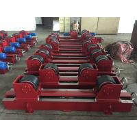 China Manual Screw Pipe Welding Rollers With 2x0.55Kw Motor Power , CE Certification wholesale