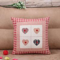 China IKEA Embroidered Cushion Covers Cotton Linen Cushion Cover Geometric Decorative Cushion Covers on sale