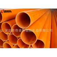 PVC transparent plastic packaging tube&ABS hardness colored tube Manufactures