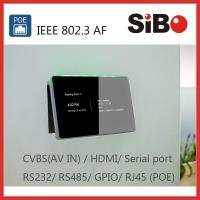 China SIBO Q896 In Wall Android Tablet With RS232 RS485 on sale