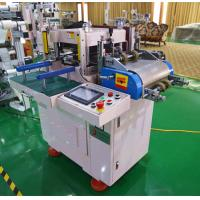 Conducting Film Fabric Die Cutter Machine With Laminating Or Feeding Machine