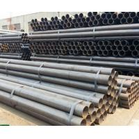China A53 / ASTM 5L Round Carbon Steel Seamless Pipe , Seamless Boiler Tubes on sale