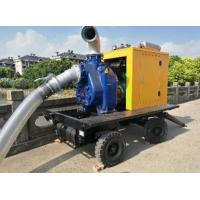China CUMMINS Engine Portable Gasoline Water Pump 8 Inch Move Water Pump on sale