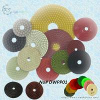 China Wet Polishing Pads for Granite and Marble (Diamond Grits# 50 ~ Buff) on sale