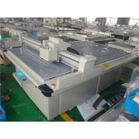 China High speed Paper Box Cutting machine flatbed digital cut  uv printer cutter automatic drawing creasing wholesale