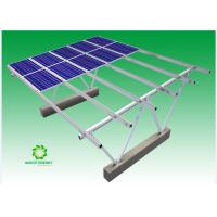 All Aluminum Sturdy Carport Solar Systems Landscape Orientation With Perfect Durability