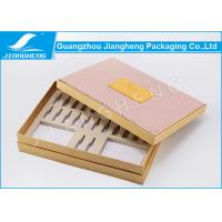 PU Leather Hardcover Storage Unique Packaging Boxes For Cosmetics / Makeup Set Manufactures