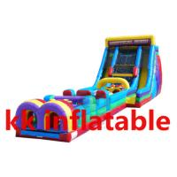 China Amusement park Inflatable water Obstacle Course Bounce House wholesale