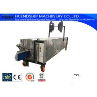 Seamless Gutter Roll Forming Machine For Rainwater Gutter , Used 0.5-1.0mm Color Steel Manufactures