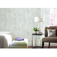 Sound-Absorbing Modern Removable Wallpaper , Home Decorating Wallpaper Wooden Color Manufactures