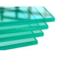 4mm 5mm 6mm Clear Safety Toughened Glass Golden for Household , Energy-saving Manufactures