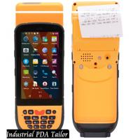 China Industrial Phone Pos Terminal Android Barcode Scanners And Handheld Thermal Printer In One wholesale