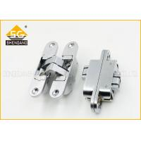 China 180 Degree Adjusted Invisible Door Hinges Support Copper / Brass Finishing on sale