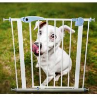 China Dog Fences child safety door guard pet dog large dogs isolated security gate on sale