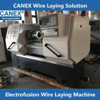 China CX-32/160ZF Poly pipe fittings wire laying machine on sale