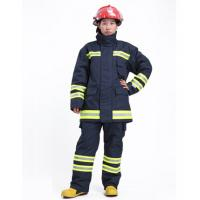 China OEM EN469 Certified Firefighter Uniform Flame Retardant Clothing with Dupont  Nomex IIIA wholesale