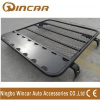 4x4 car roof rack universal car aluminium luggage rack No Frame Gutter mount brackets Manufactures