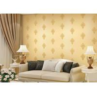 China Economical Durable European Concise Interior Room Wallpaper For TV / Sofa Backgroud wholesale