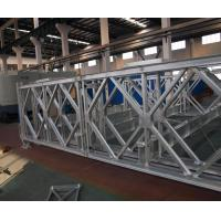 Reinforced Mabey Temporary Bridge , Long Span Steel Structure Compact 200 Bridge