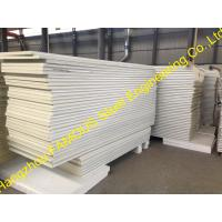 Metal Roofing Insulated Sandwich Panels Fireproof , 100mm -150mm Foam Manufactures