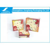 Coated Paper Essential Oil Packaging Boxes Rigid Cardboard Printing Flower Gift Box Manufactures