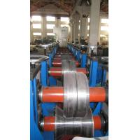 Productivity Rack Roll Forming Machine Tracking Cutter For Goods Shelf Manufactures