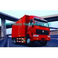 371HP SWZ Heavy Equipment 8 Ton Trucks , Diesel 4X2 Cargo Truck For Transport Manufactures