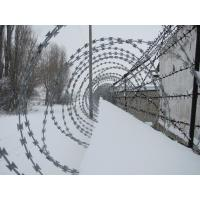 Prison / Airport Fence Security Wire Ultra Durable Anti Aging Barbed Wire Coil Manufactures