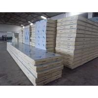 China Quake Proof PU PVC Polyurethane Metal Building Wall Panels With Stainless Steel wholesale